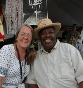 Diana Shonk and Magic Slim