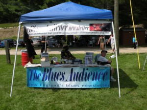 My booth at the festival