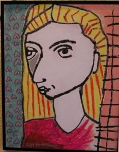 portrait of dannielle by Charlie Harrison