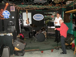 Mike and Candido at the Cantab Lounge