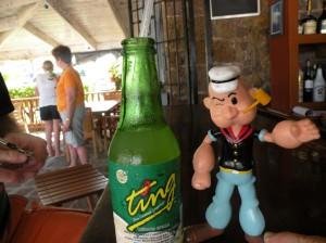 Popeye at the bar